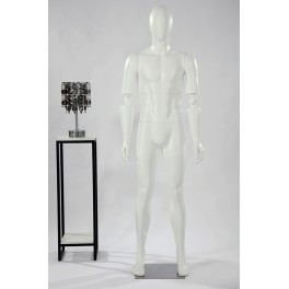 MA1-1-DS abstract mannequin white in matt man