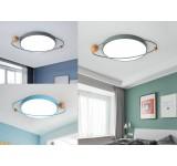LED Deckenleuchte XQ mit Fernbedienung Lichtfarbe/ Helligkeit einstellbar Acryl-Schirm lackierter Metallrahmen