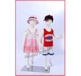 R6X2 2 X Children Dolls flexble Bendable Body Display Dummy Mannequin