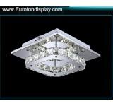 LED Deckenleuchte 5199 Luxus  Design  Kristall beinstern oder klar Edelstahl Chrom    12 W-108W Lichtfarbe  kaltweiß