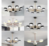 LED ceiling light 9013D with remote control light color adjustable acrylic shade A + LED living room light