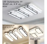LED ceiling light Y1675 with remote control light color / brightness adjustable A +