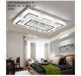 B-Goods XW803-95x65 LED ceiling light with remote control Light color / brightness adjustable Acrylic shade white  lacquered