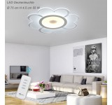 LED ceiling light 1612-750. The light color can be set separately with the remote control [energy class A +]