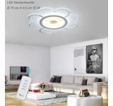 LED Deckenleuchte 1612-750. Mit Fernbedienung ist die Lichtfarbe separat einstellbar [Energieklasse A+]