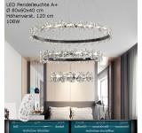 LED  Pendelleuchte A+ 9074-3  Fernbedienung Lichtfarbe steuerbar Dimmbar schwarz