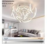 LED Deckenleuchte XW036-12. Mit der Fernbedienung ist die Lichtfarbe/Helligkeit einstellbar A+