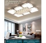 B-Ware B150  LED Deckenleuchte 8232-90x60 cm, H 8 cm, 65 W A+ mit Fernbedienung Lichtfarbe/helligkeit einstellbar A+