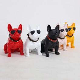 Hundfigur Dekofigur Hund Dekorationsfigur Dog Dekoobjekt Deko Skulptur Tierfigur