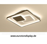 B Ware B177  9643 LED ceiling light with remote control light color / brightness adjustable acrylic screen