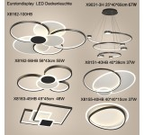 LED ceiling light X81  with remote control light color / brightness adjustable A +