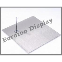 Metallplatte Standplatte viereckig
