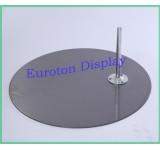 Metallplatte Standplatte rund