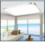 LED Deckenleuchte 6088 Rahmen silber/gold  Fernbedienung  Lichtfarbe/Helligkeit einstellbar 10W-80W