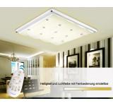 LED Deckenleuchte 3906 extra dünn 9cm  Lichtfarbe/Helligkeit einstellbar   48W,60W,80 W