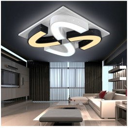 LED Deckenleuchte 2038LNB  3 Modus Fernbedienung