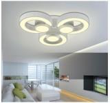 2036 LED Deckenleuchte mit Fernbedienung Lichtfarbe/helligkeit einstellbar Acryl-Schirm A+