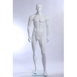 XM11-6  weiß matt  lackierter Mann