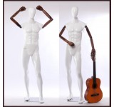 HX-M11-BMJ Male abstract white mannequin