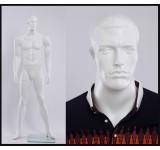 MA12-6   weiß matt  lackierter Mann