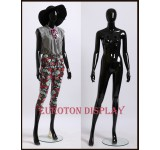 GM3-H  abstract female shining black
