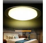 LED ceiling light 6088 frame silver / gold remote control