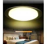 LED Deckenleuchte MB Ø 40cm  mit Fernbedienung  Lichtfarbe/Helligkeit einstellbar 18W