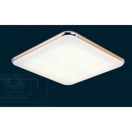 LED Deckenleuchte 6086  Rahmen gold Fernbedienung  Lichtfarbe/Helligkeit einstellbar