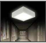 LED Deckenleuchte 2061 Rahmen schwarz matt mit Fernbedienung  Lichtfarbe/Helligkeit einstellbar