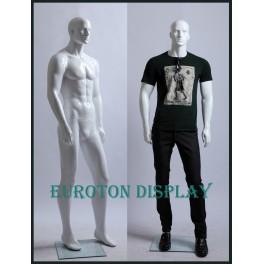 abstrakte Schaufensterpuppe Mann  XM11 weiß oder schwarz Matt oder Glanz