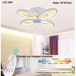 LED Deckenleuchte 8010WJ  mit Fernbedienung