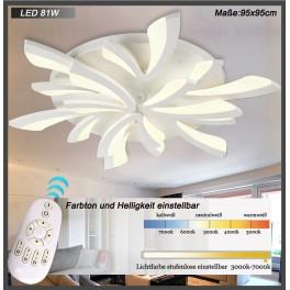 LED Deckenleuchte 8009  mit Fernbedienung