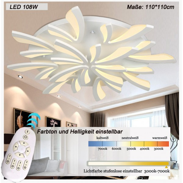 LED ceiling light , LED ceiling lamp -> Led Deckenleuchte Zoe