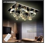 LED Deckenleuchte kristall 1616-900*600mm 114W  mit Fernbedienung  Lichtfarbe getrennt schaltbar