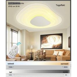 LED Deckenleuchte 2125 Ø 62 cm inkl. Fernbedienung