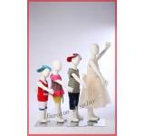 R3468 4 X Children Dolls Flexible Bendable Body Mannequin