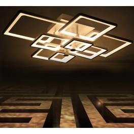 LED Deckenleuchte 6087-8 mit  Fernbedienung Lichtfarbe/Helligkeit einstellbar A+ 100 W