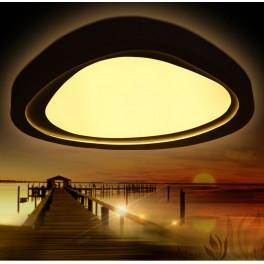 LED Deckenleuchte 2111 black mit Fernbedienung Lichtfarbe/Helligkeit einstellbar A+ 46 W