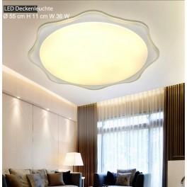 LED Deckenleuchte 8022 Ø 55 cm 36 W mit Fernbedienung Lichtfarbe/Helligkeit einstellbar A+
