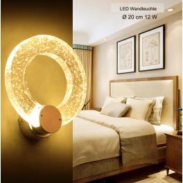 LED Wandleuchte 2802 Ø 20 cm 12 W  mit Fernbedienung Farbton einstellbar A+