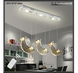 LED pendant light 1668-3 Design crystal Energy efficiency class: A +