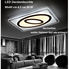 LED Deckenleuchte 1616-900x600. Mit Fernbedienung ist die Lichtfarbe separat einstellbar A+