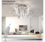 LED Deckenleuchte XW015-6. Mit der Fernbedienung ist die Lichtfarbe/Helligkeit einstellbar A+