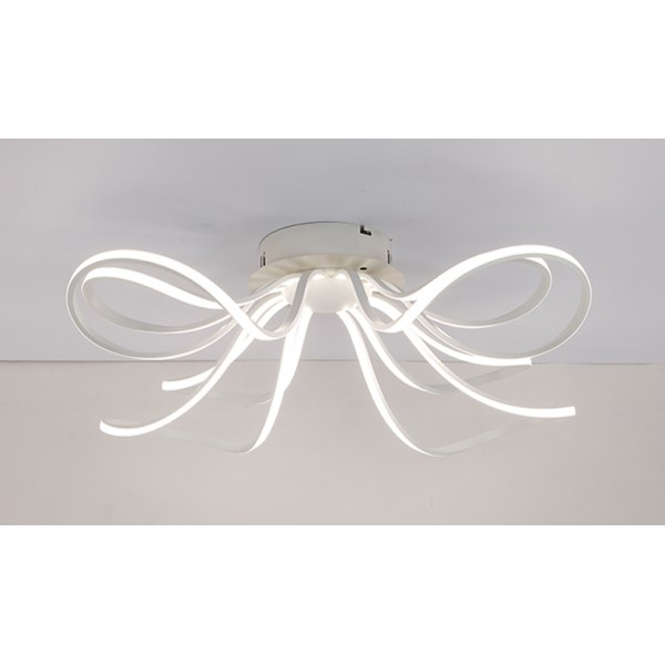 Led chandelier light led ceiling light led lamp led lights led ceiling light xw016 8 incl leds and remote control light and color mozeypictures Choice Image