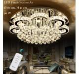 LED Pendelleuchte 6019-80 LNB mit Fernbedienung Lichtfarbe Steuerbar. Kristall K9. A+