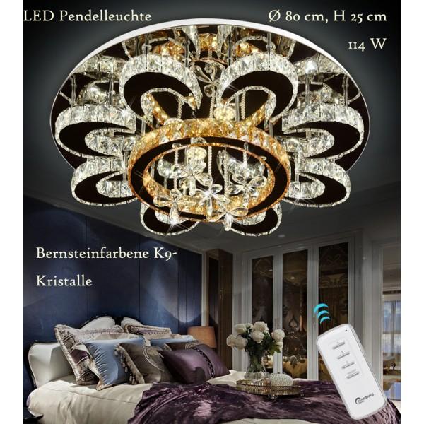 LNB 6021-80 LED Pendel Leuchte Fernbedienung Lichtfarbe separat einstellbar A+