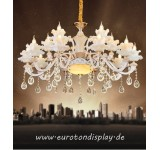XLH Chandelier Ceiling lamp Crystal Socket E14 Luxurious New Lustres Ceiling lamp Fixture Hanging Living room Bedroom