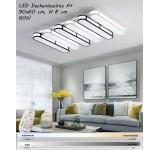 LED Deckenleuchte Y1675 mit Fernbedienung Lichtfarbe/helligkeit einstellbar A+