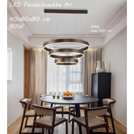 LED Pendelleuchte 6053O mit Fernbedienung Lichtfarbe/helligkeit einstellbar A+