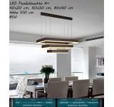 LED Pendelleuchte DD146 mit Fernbedienung Lichtfarbe/helligkeit einstellbar A+